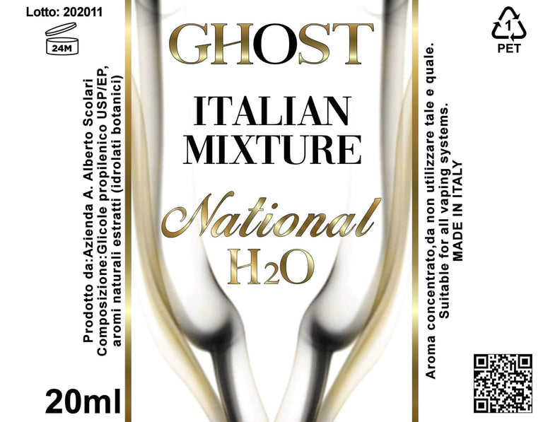 Italian mixture - national h2o - Ghost