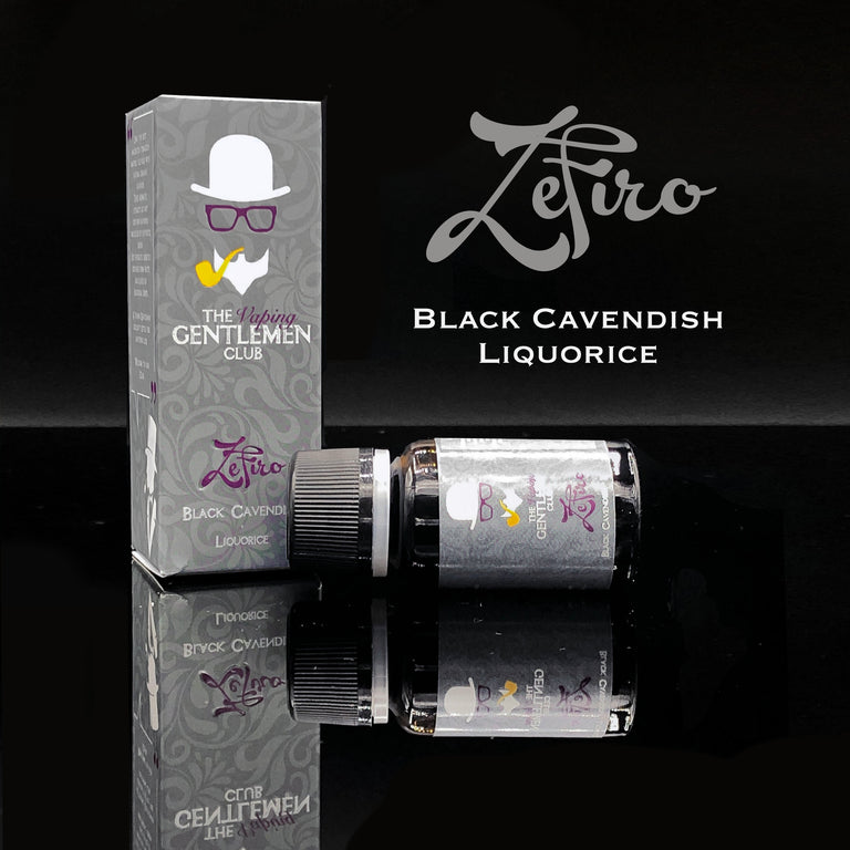 Zèfiro - Black Cavendish and Liquorice