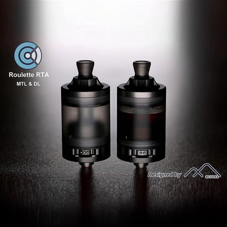 Roulette RTA by Across Vape (Gun Metal)