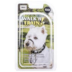 Coastal Pet Walk 'N Train ! Head Halter Black