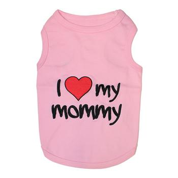 Dog Tank Top I Love Mommy