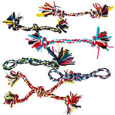 Dog Toy Rope Multi-Color Large 13""