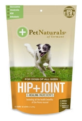 Pet Naturals of Vermont Hip+Joint Dog Chews 60 count