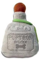 Dog Toy Plush Puptron Tequila Bottle by Haute Diggity Dog