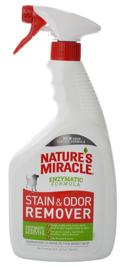 Natures Miracle Original Dog Urine Stain & Odor Remover Trigger Spray 32oz