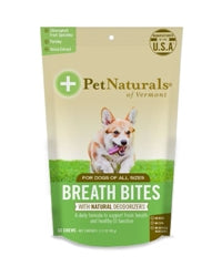 Pet Naturals of Vermont Breath Bites Dog Chews 60 count