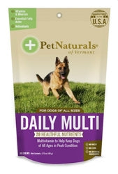Pet Naturals of Vermont Daily Multi Vitamins Dog Chews 30 count