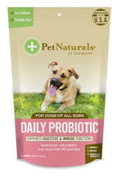 Pet Naturals of Vermont Daily Probiotic Dog Chews 60 Count