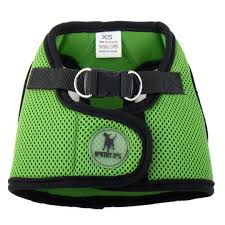 Dog Harness Lime Green XXS-XXXL