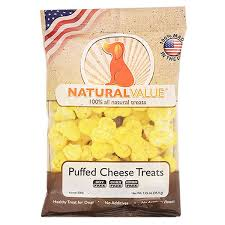 Dog Treats Natural Cheese Puffed by Loving Pets