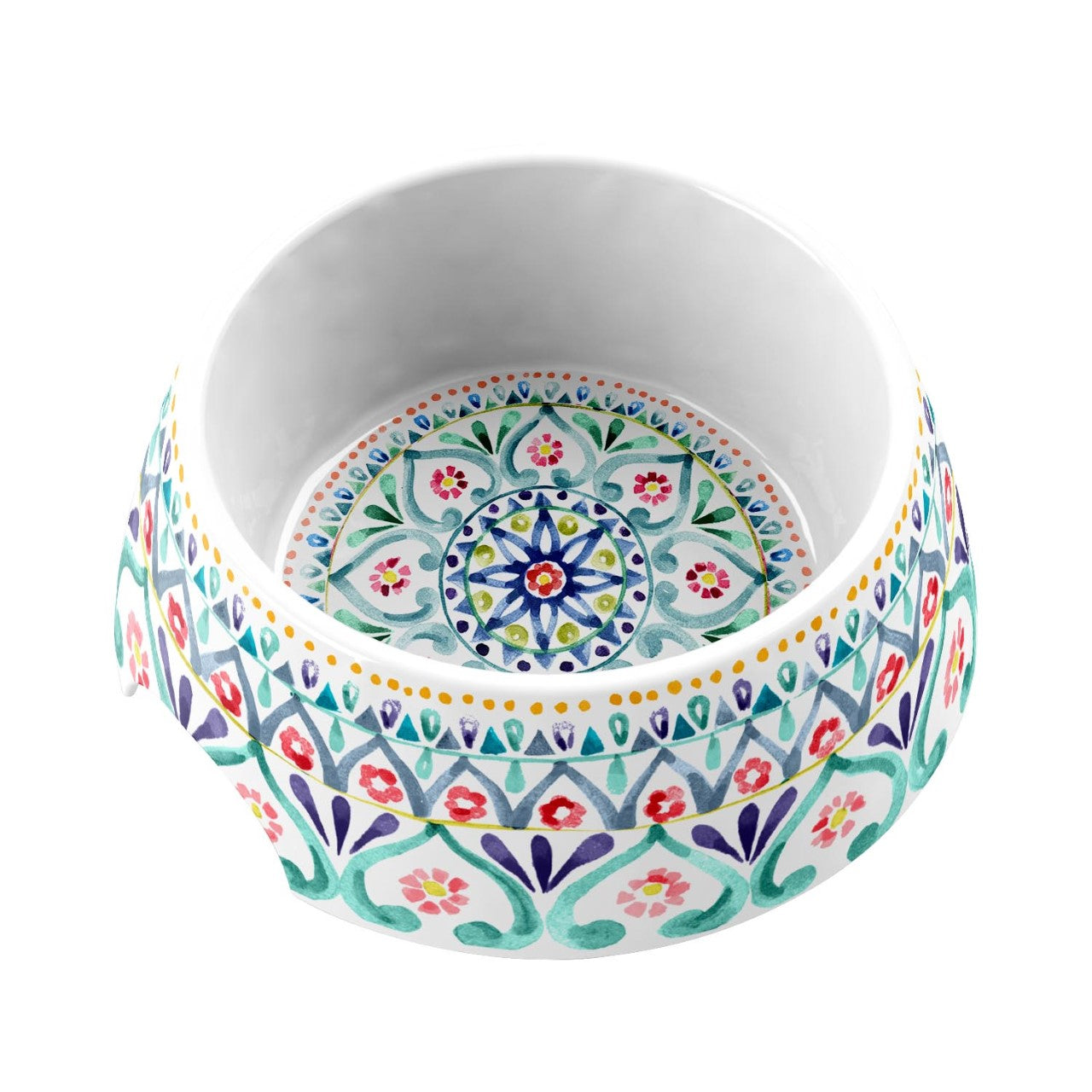 Dog Bowl Boho Medallion by TarHong