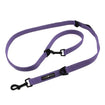 Dog Leash 6 Way Multi-Function Dog Leash Lavender by Doggie Design