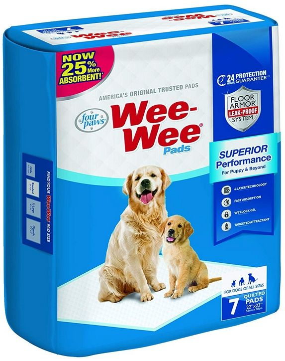 Wee Wee Pads for Puppy Potty Training