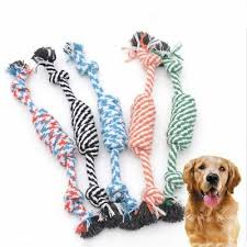 Dog Rope Toy Blue Green Large