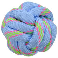 Dog Toy Rope Ball