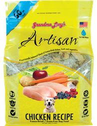 Grandma Lucy's Artisan Grain Free Freeze Dried Chicken Dog Food