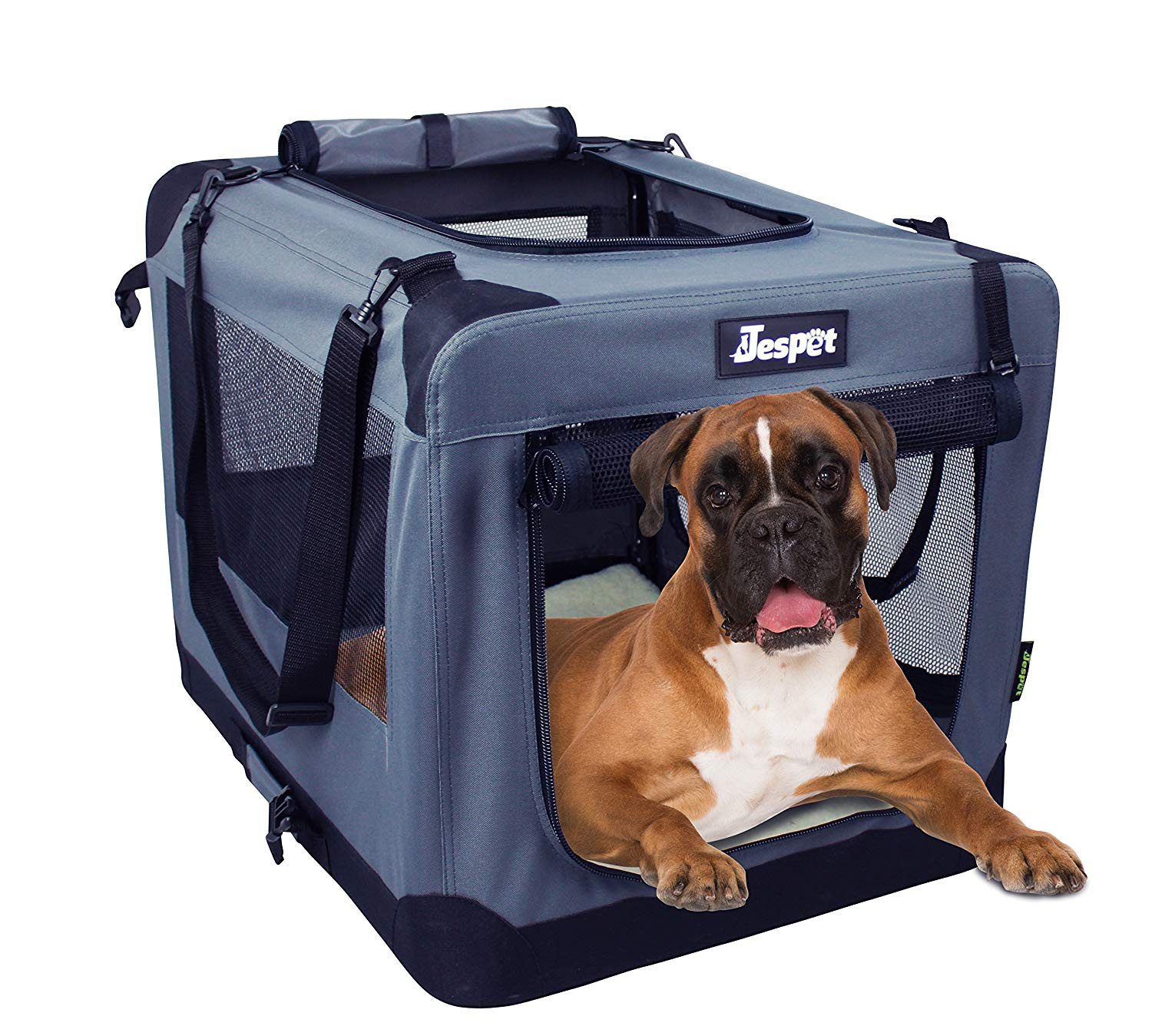 Jespet Dog Soft Crate Grey Small