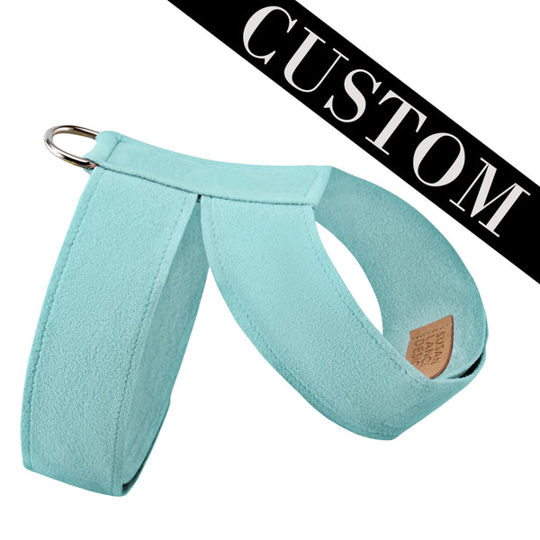 Luxury Dog Harness Blue Ultrasuede®