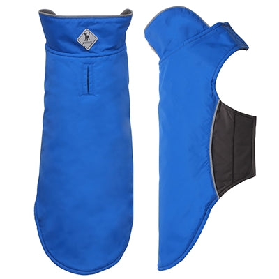 Dog Coat Royal Blue Nylon Fleece