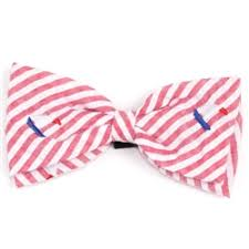 Nautical Sailboat Dog Collar Attachment Bow Tie Red White Blue Small & Large