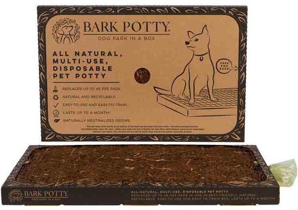 Natural  Dog Potty Pad Tray no grass-mess! Free Shipping Included! No Tax!