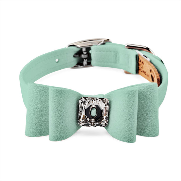 big bow collar mint