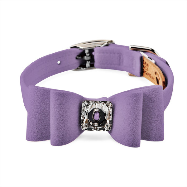 big bow collar ultraviolet