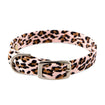 Pink Cheetah Couture Collar