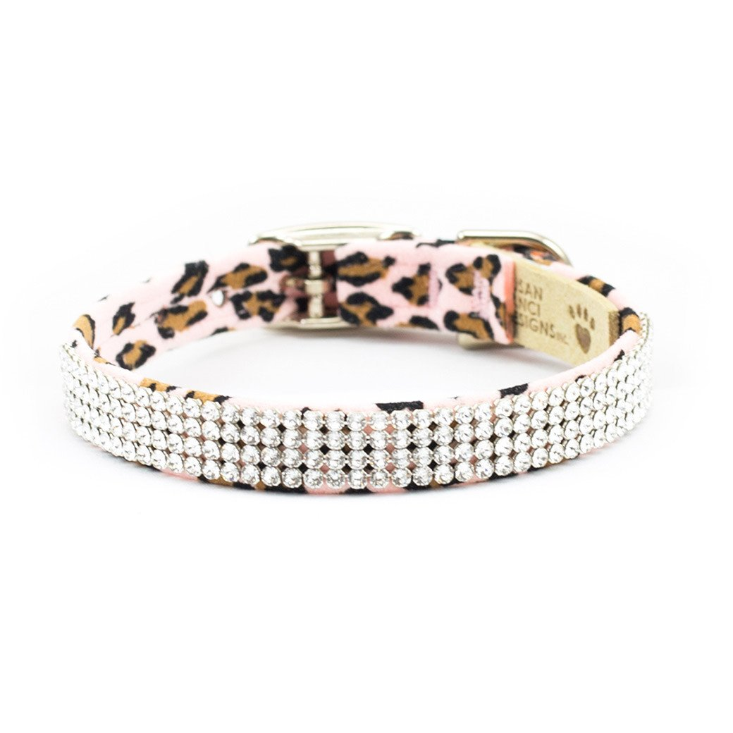 Pink Cheetah Couture Giltmore Collar