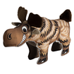 Durable Dog Toy Canvas Moose Critterz  Brown