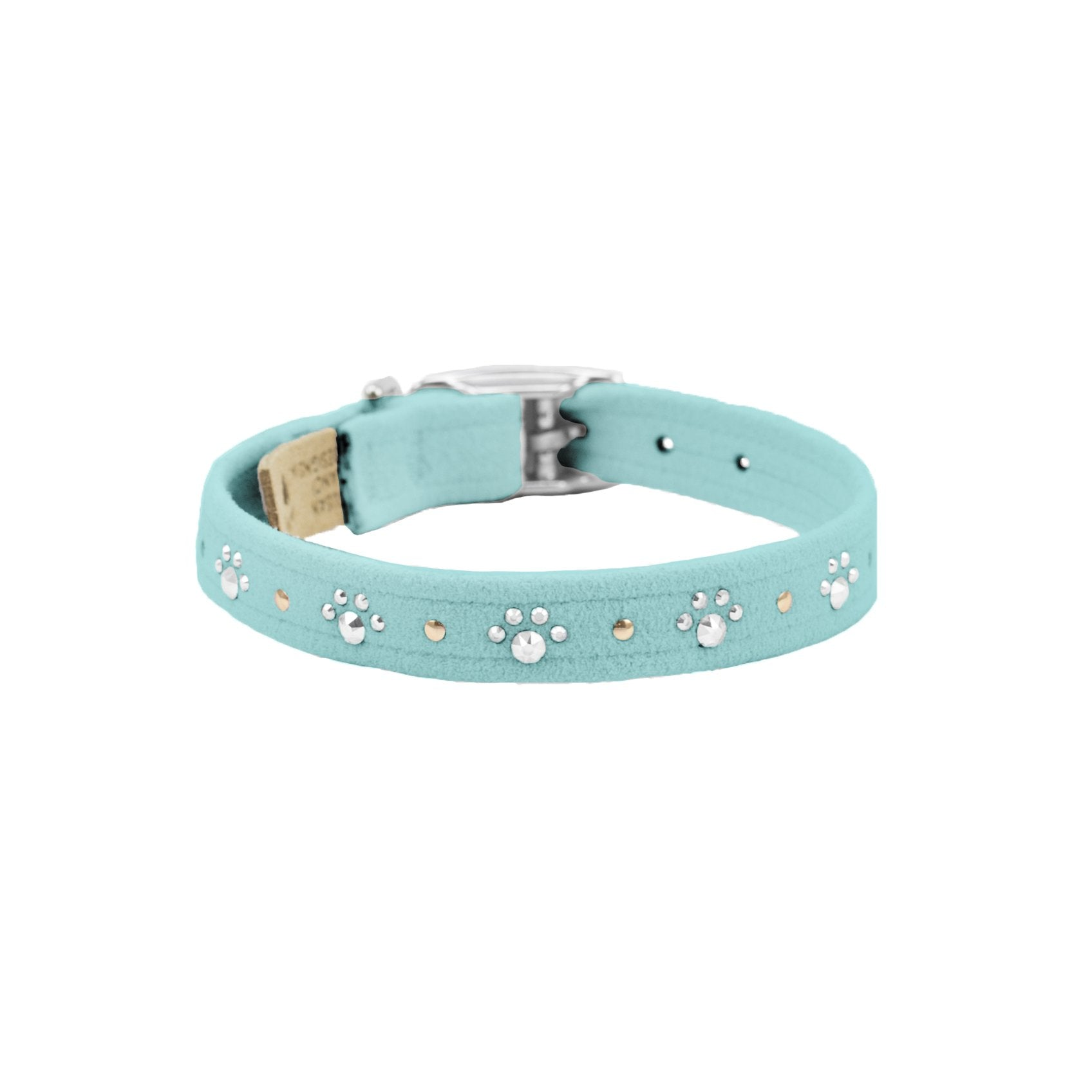 Crystal Paws Collar tiffi blue