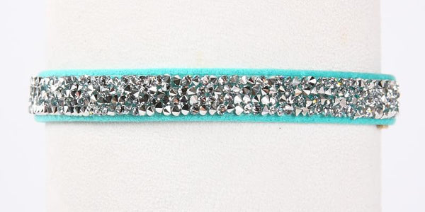 Crystal Rocks Collar bimini blue