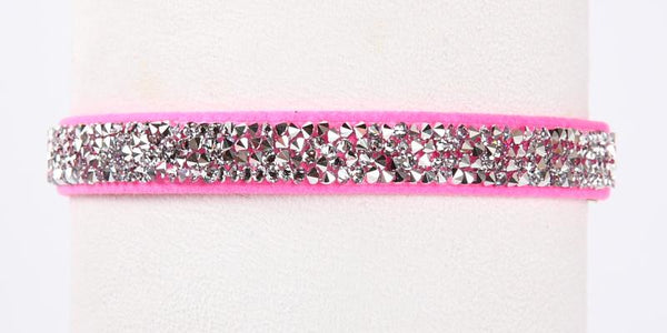 Crystal Rocks Collar perfect pink