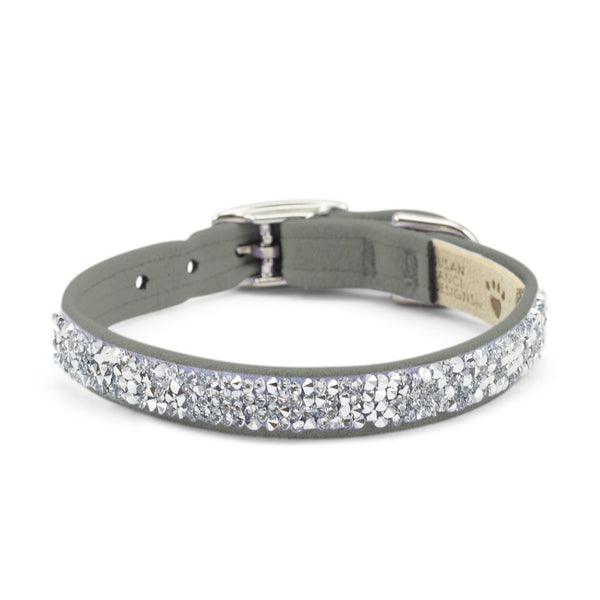 Crystal Rocks Collar platinum