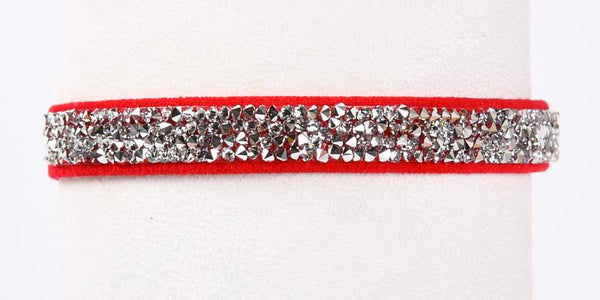 Crystal Rocks Collar red pepper