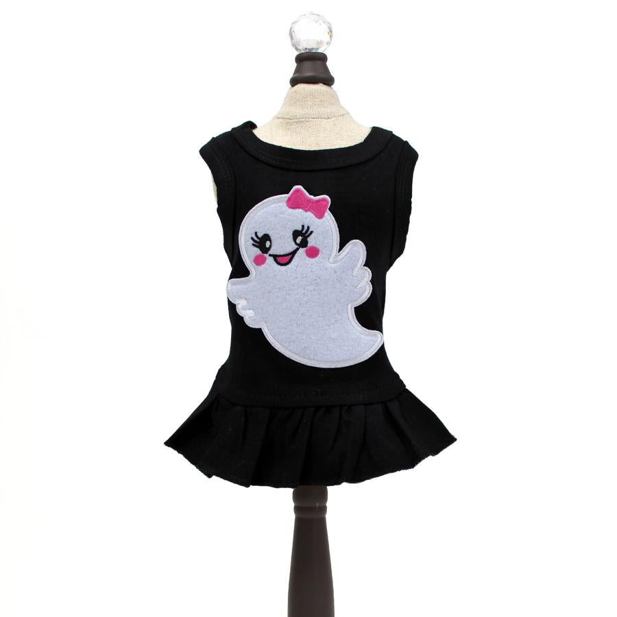 Halloween Dog Dress Black