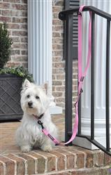 Doggie Design Pink 6 Way Multi-Function Dog Leash, Can be used in 3 different lengths