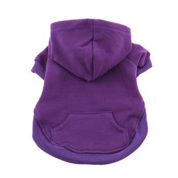Dog Hoodie Sweatshirt Purple