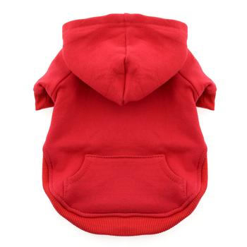 Dog Hoodie Sweatshirt Red