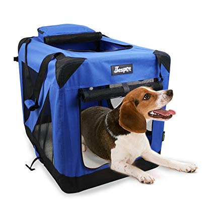 Jespet Dog Soft Crate Blue Small, Medium, Large