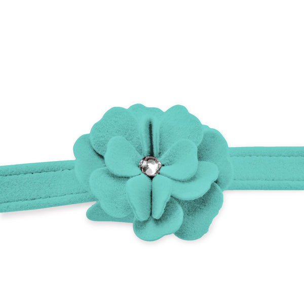 Tinkie's Garden Leash bimini blue