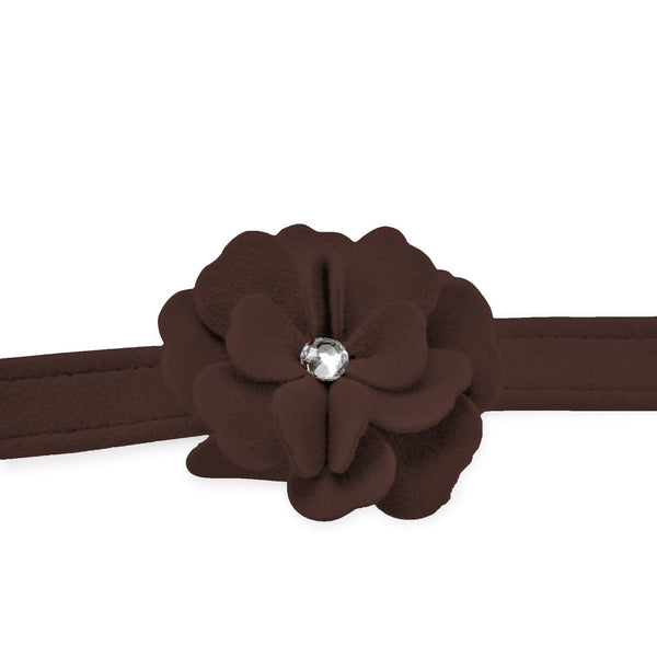 Tinkie's Garden Leash chocolate