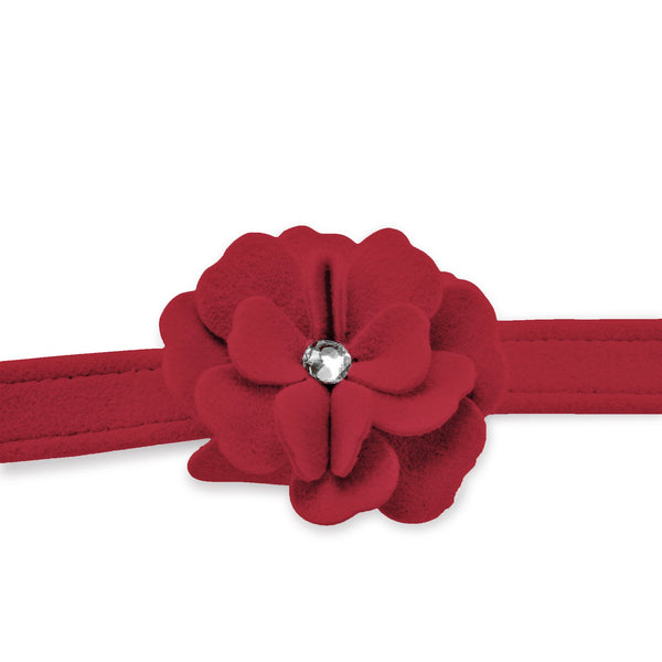 Tinkie's Garden Leash red