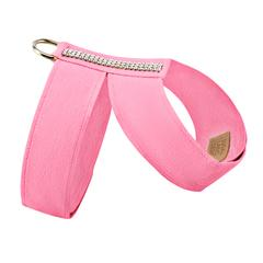 Luxury Dog Harness Pink Ultrasuede® Swarovski® Crystals