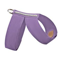 Luxury Dog Harness Purple Ultrasuede® Swarovski® Crystals