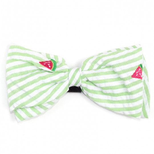 Dog Bow Tie Watermelon Collar Attachment