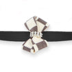 Windsor Check Nouveau Bow Leash black