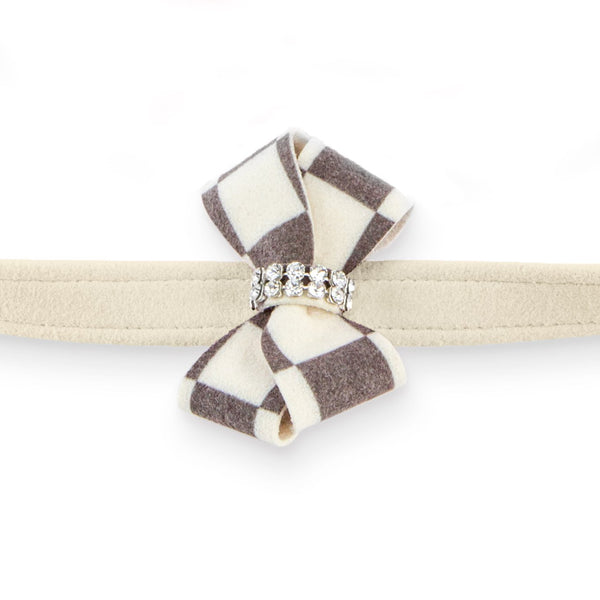 Windsor Check Nouveau Bow Leash doe