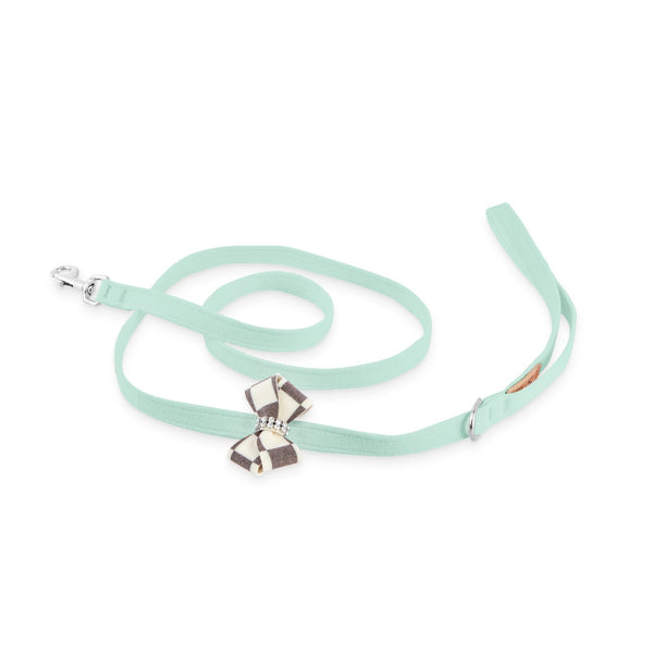 Windsor Check Nouveau Bow Leash mint