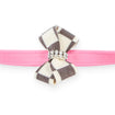 Windsor Check Nouveau Bow Leash perfect pink